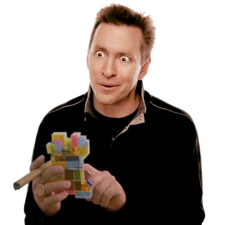 Scott Forstall with new iPhone 5 prototype