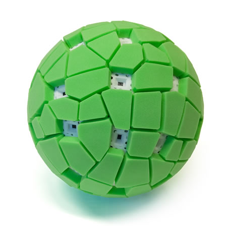 Throw-able Spherical Panorama Ball Camera
